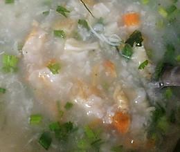 瑶柱虾干粥的做法