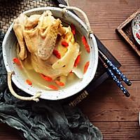 天麻炖鸡汤(缓解头痛、神经衰弱)的做法图解4