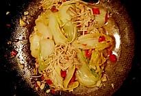 剁椒金针菇娃娃菜的做法