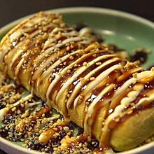 【蜜汁鸡肉卷/玉子烧】新手减肥餐