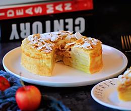 苹果隐形蛋糕 #好吃不上火#的做法