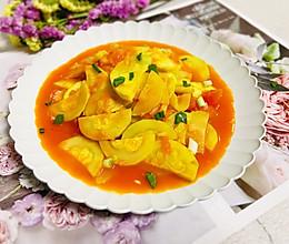 #我们约饭吧#番茄炒西葫芦的做法