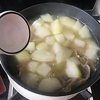 #资深营养师#秋后进补冬瓜排骨汤的做法图解7