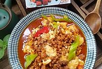 红烧肉末豆腐#夏日撩人滋味#的做法