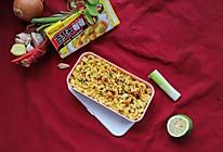 健身爱好者的快手午餐:微辣虾油咖喱意面便当#百梦多圆梦季#的做法