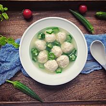 #晒出你的团圆大餐#低脂健康鸡肉丸汤