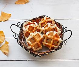 #快手又营养,我家的冬日必备菜品#红豆华夫饼的做法