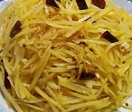 炒土豆丝的做法