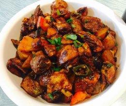 家常辣炒鸡块/土豆炒鸡块的做法