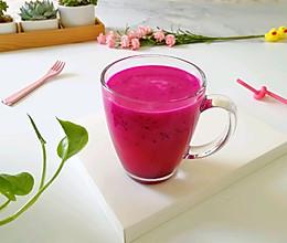 火龙果汁#夏日冰品不能少#的做法