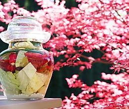 四川泡菜-生水版 不易生花的做法