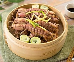 清蒸皮皮虾的做法