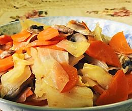 家常炒杂菜(适合糖尿病人)的做法