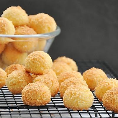 【视频】椰蓉小酥球,简单快手的童年美食