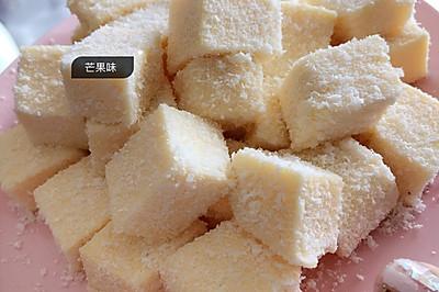 芒果味的椰奶冻