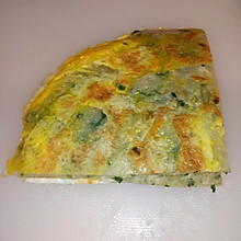 韭菜葱花煎饼