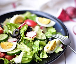 蔬菜色拉(营养低热量)的做法