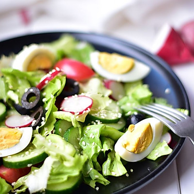 蔬菜色拉(营养低热量)