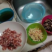生炒糯米饭的做法图解3