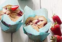 草莓马芬蛋糕的做法
