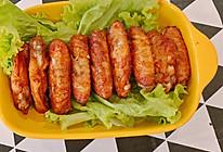 烤箱版烤鸡翅尖无油版的做法