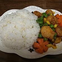 家常咖喱虾(少油版)