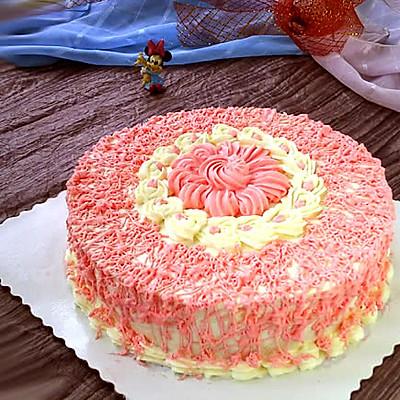 裱花蛋糕:粉色记忆