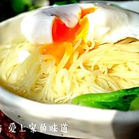 微冷时候需要一碗鸡蛋青菜面的做法图解3