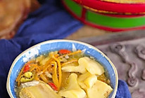 虫草花干贝新西兰花胶汤的做法
