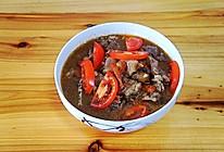 牛肉炖柿子 #520,美食撩动TA的心#的做法