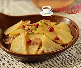 土豆炒肉片的做法