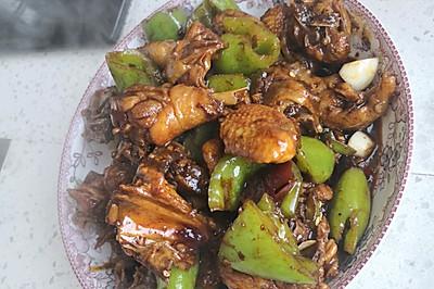 潍坊炒鸡,家庭炒鸡块,鲁菜辣子鸡块