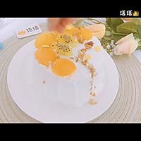 六寸芒果生日蛋糕蒸蛋糕的做法图解9