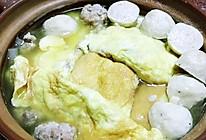 萝卜蛋饺煲的做法