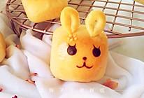 萌萌哒兔子夹馅小面包的做法