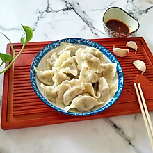 槐花大肉馅饺子#一人一道拿手菜#