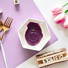 辅食日志 | 紫薯泥米糊