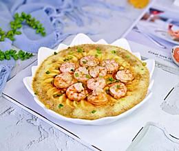 #憋在家里吃什么#虾仁豆腐蒸蛋的做法
