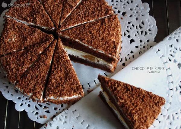 山寨黑森林蛋糕的做法