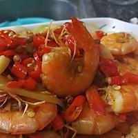 尖椒香辣虾