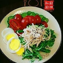 凯撒鲜蔬沙拉#丘比轻食厨艺大赛#