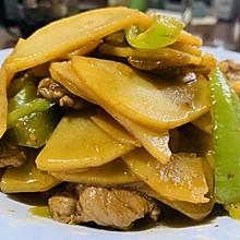 能吃三碗饭的尖椒土豆片