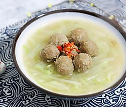 牛丸萝卜丝汤的做法