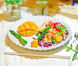 #最爱盒马小龙虾#低脂饱腹的小龙虾果蔬沙拉的做法