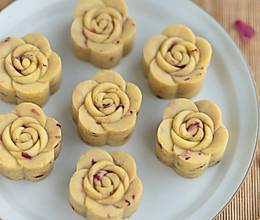 #硬核菜谱制作人#奶香玫瑰绿豆糕的做法
