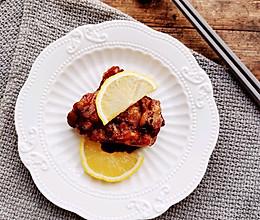 #下饭红烧菜#柠檬黑胡椒烤鸡腿肉的做法