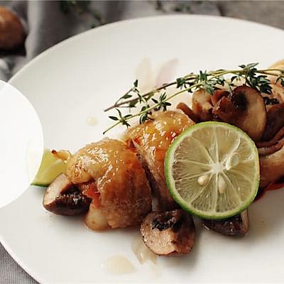 普罗旺斯烤鸡腿卷