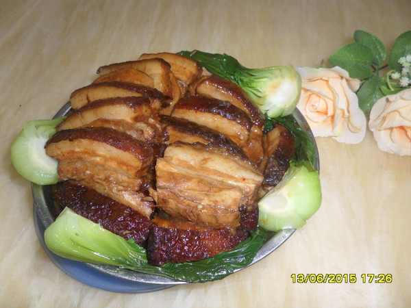 广东菜----芋头扣肉的做法