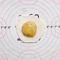 ㊙️无需烤箱❗️一次成功的燕麦雪饼❗会爆浆哦的做法图解10