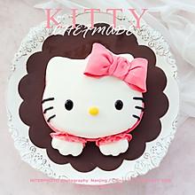 KITTY翻糖蛋糕